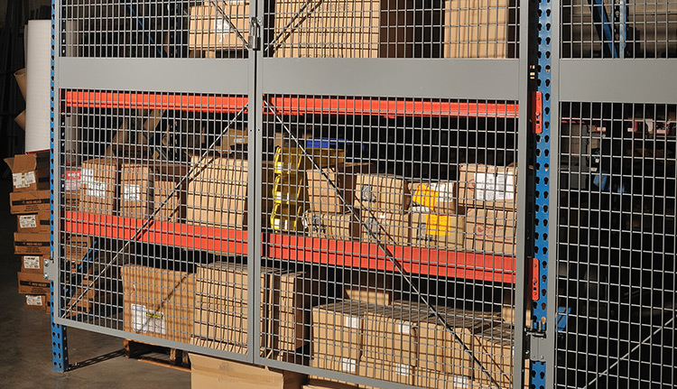 Pallet Rack Enclosures   Business Systems & Consultants
