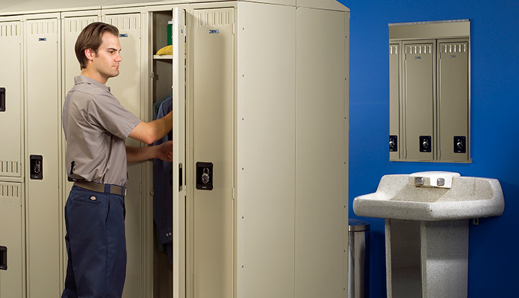 Employee Storage Lockers | Business Systems & Consultants
