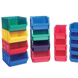 Stackable Storage Bins | Business Systems & Consultants