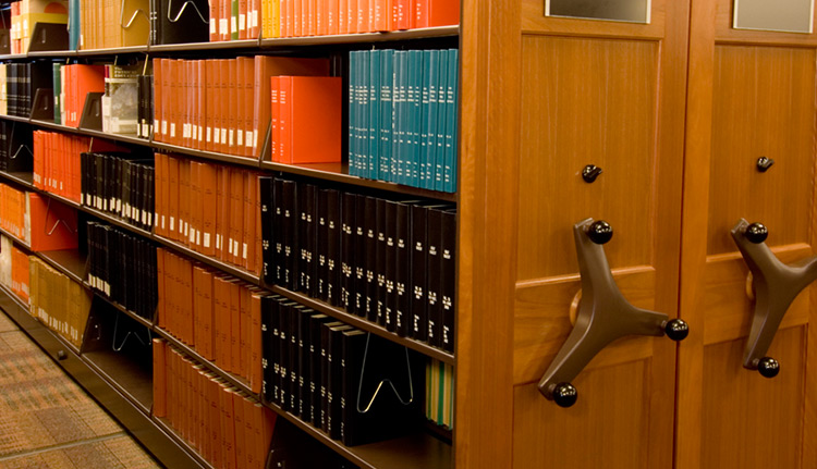 Library storage systems business systems consultants - Home library shelving system ...