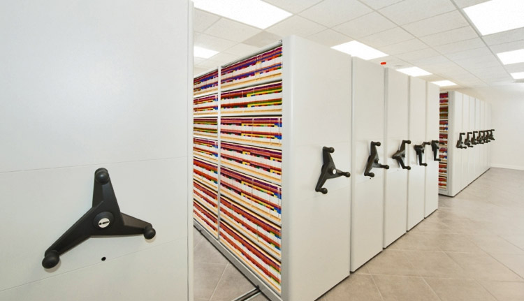 Medical Mobile Shelving | Business Systems & Consultants