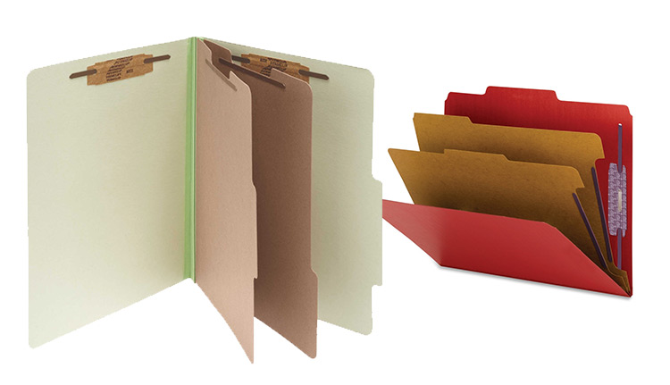 Colored Pressboard Folders | Business Systems & Consultants