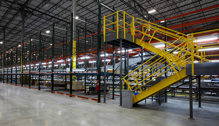 Rack Supported Mezzanines | Business Systems & Consultants