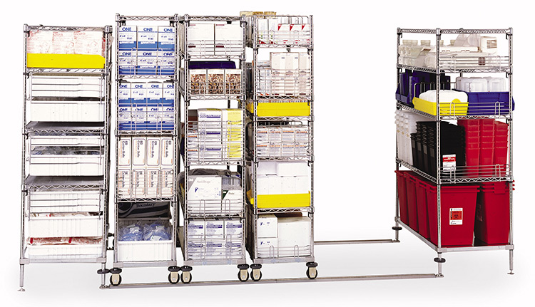 Wire Shelving Units | Business Systems & Consultants