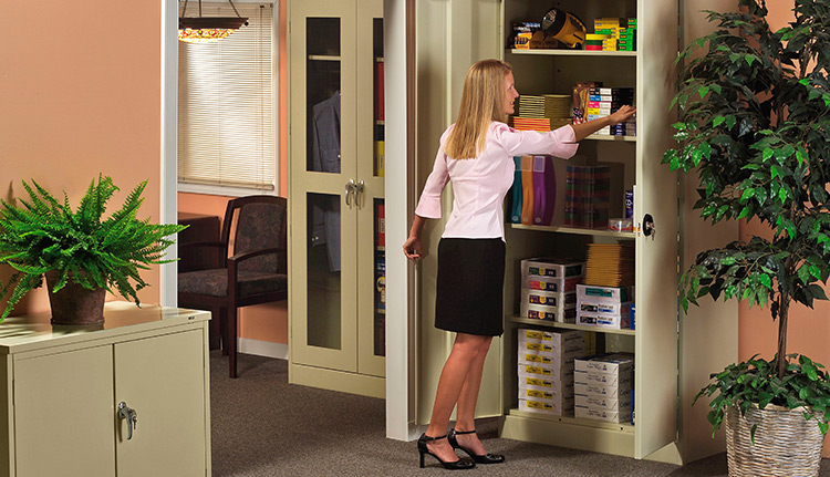 Metal Storage Cabinets | Business Systems & Consultants