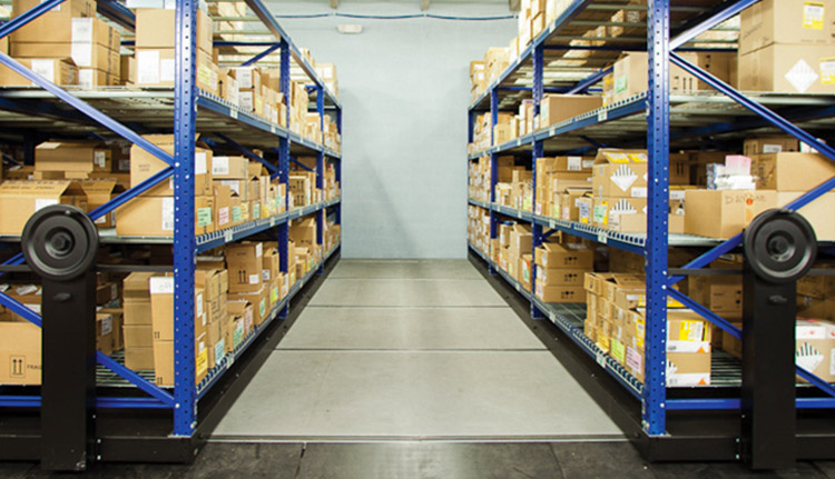Industrial Mobile Shelving | Business Systems & Consultants