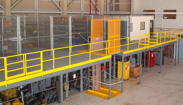 Mezzanine Platforms | Business Systems & Consultants
