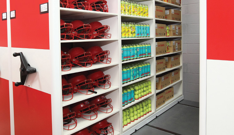 High Density Sports Storage Solutions
