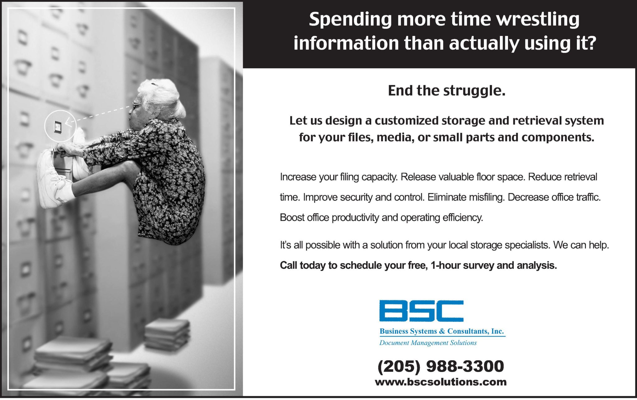 How Can BSC Help You End Your Document Struggle