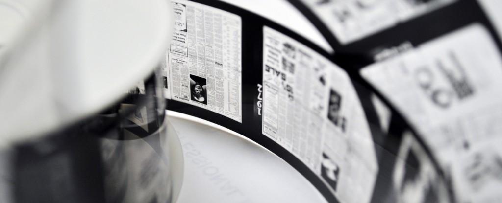 Microfilm-Scanning