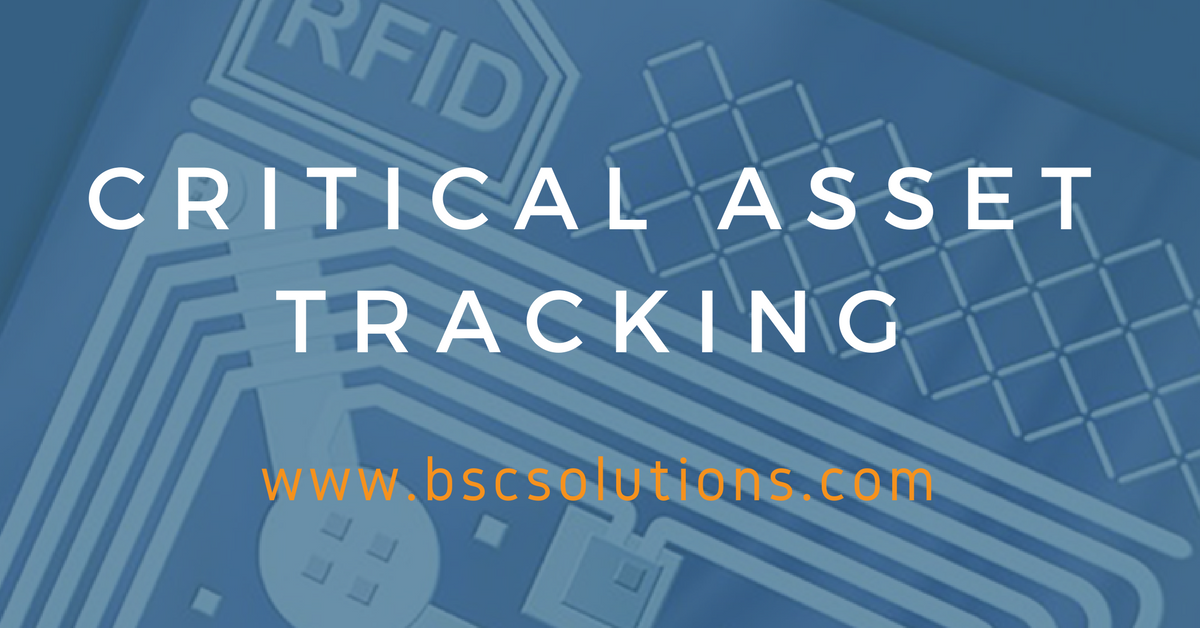 The Importance of Critical Asset Tracking – RFID Technology