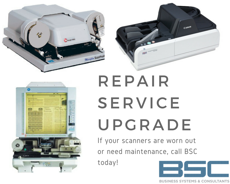 Repair, Service, Upgrade Your Old Scanners with BSC