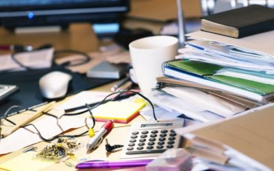 Solutions For A Messy Desk