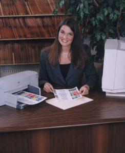 Document Filing System label printer