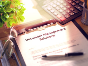 Document and Information Management