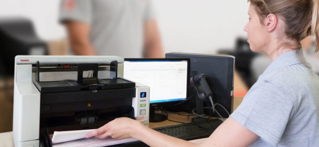 Document Control through Scanning services